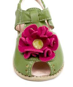 Livie & Luca Bloom Lime Flower sandal