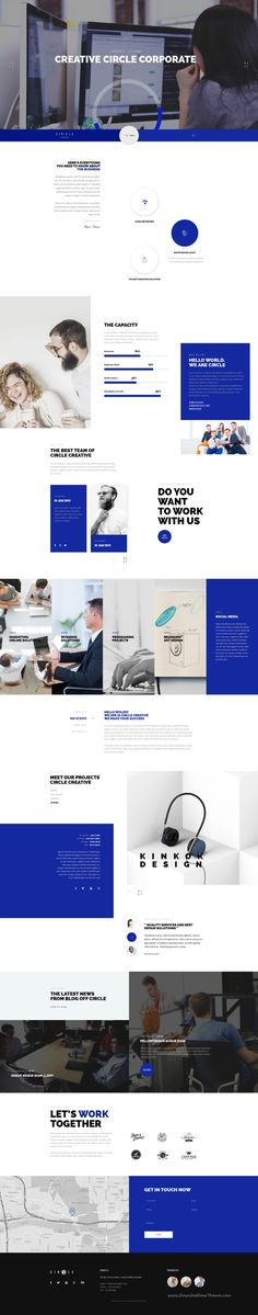 CIRCLE is modern and professionally design PSD #template for multipurpose #website with 42 homepage, 25 Online store, 8 blog layouts and 173 #PSD files. #corporate Download Now!