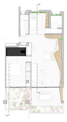 of Weston House / Antonio Maciá Mateu - 19 Weston+House+/+Antonio+Maciá+MateuWeston+House+/+Antonio+Maciá+Mateu Sims 4 House Plans, House Floor Plans, Architecture Student, Architecture Plan, Architectural Floor Plans, Architectural Drawings, Craftsman Floor Plans, Ceiling Plan, Lobby Interior