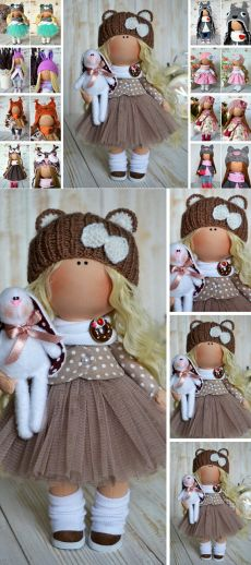etsy.com Crafted Doll Crochet Hat