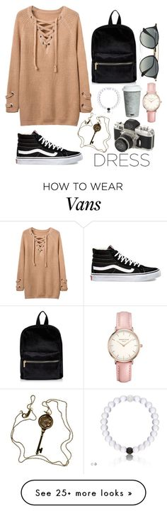"""I travel ✈️"" by yammyd on Polyvore featuring Vans, Ray-Ban, Topshop, Tiffany & Co. and Fitz & Floyd"