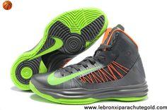 promo code aac8b e5536 closeout nike lunar hyperdunk 2013 grey green orange mens basketball shoes  latest now nike kd shoes