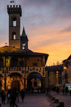 San Giovanni Valdarno, #Toscana, Italia Piazza Masaccio