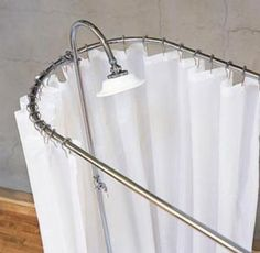 1000 Images About Clawfoot Tub Shower Rod On Pinterest Clawfoot Tub Shower
