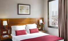Hotel H10 Montcada, 4 Star Hotel, Via Laietana 24, Barcelona, 08003 - City Park Area (Parc De La Ciutadella), Barcelona, Spain This hotel is part of the H10 hotel chain and has 79 rooms for guests. H10 Montcada Barcelona offers all of the comforts and amenities expected from a four-star hotel, making it a good choice for both tourists and business travelers both. A few luxurious details worth mentioning are the roof-top Jacuzzi