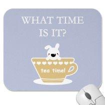 ¿Qué hora es? La hora del té!