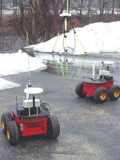 Pioneer robot with GPS for outdoor autonomous navigation Robot Platform, Lawn Mower, Outdoor Power Equipment, Robotics, Lawn Edger