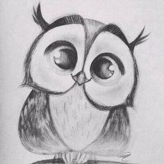 Einfac Art Tutorial Art tutorial easy PENCIL DRAWING Einfac MalTutorial S . Easy Pencil Drawings, Pencil Drawing Tutorials, Art Drawings Sketches Simple, Animal Drawings, Art Tutorials, Owl Drawings, Pencil Sketch Drawing, Easy Drawings Of Animals, Cool Simple Drawings