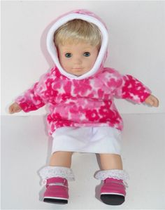 American Girl Bitty Baby 15 Doll Clothes by adorabledolldesigns, $10.99