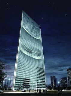 Supertall Architectural Projects To Be Built In China - 30 Buildings Future Buildings, Unique Buildings, Amazing Buildings, China Architecture, Unique Architecture, Futuristic Architecture, In China, Shanghai, Pearl River Tower
