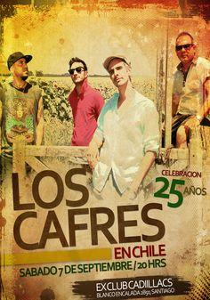 Los Cafres - 07 de septiembre - Ex Club Cadillacs