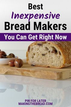 Are you on the hunt for a bread machine that's not only stylish but affordable? Here is two viable options for a bread machine with various functions and two differing designs. Read article for more! #makingthebread #bread #baking #bakingonabudget #howtobake #breadmakers #breadmachine #breadmakerreview #breadmachinereview #bestbreadmakers #inexpensivebreadmakers Bread Machine Reviews, Best Bread Machine, Cinnamon Raisin Bread, No Rise Bread, Recipe Creator, Food Test, Homemade Pasta, World Recipes, How To Make Bread
