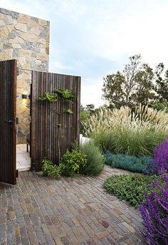 First impressions count, so when it comes to upping your home's kerb appeal, why not grow a lush, green, front garden? Here's 20 ideas to start with. Seaside Garden, Coastal Gardens, Fresco, Landscape Design, Garden Design, House Design, Australian Garden, Ground Cover Plants, Garden Inspiration