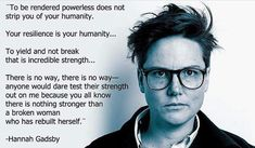 Image result for hannah gadsby broken woman