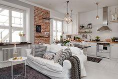 Apartamento 36 m² máximo aproveitamento e planta irregular. Blog Achados de Decoração