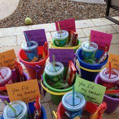 teacher gifts pinterest | End of year teacher gifts - You Fill My Bucket