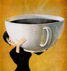 Now that's a coffee cup!!