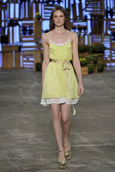 Soft yellow dress #summer