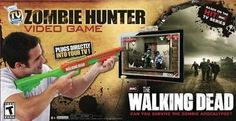 ZOMBIE HUNTER 2012 THE WALKING DEAD Official TV VIDEO GAME NEW by Jakks Pacific. $54.78. 2012 ZOMBIE HUNTER THE WALKING DEAD OFFICIAL TV VIDEO GAME. GAME is new and factory sealed!  The Walking Dead Official TV Game requires no game console or software and plugs into any TV! It includes dozens of levels of action and game play across multiple modes.  The Walking Dead Official TV Game: Designed for 1 player Includes dozens of levels of action and game play Multip...