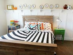 5 Ways to Get This Look:  Rustic Boy's Bedroom