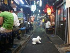 "It seems to be backstreet of #SHinjyuku, #Japan. there more likely to be weird but really tasty "" #Izakaya "" at the backstreet in Japan.居酒屋,日本,"