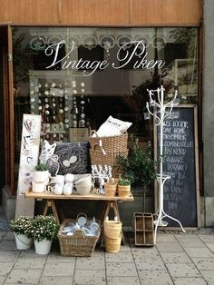 Don't forget to #stage the outside of your #retail space or shop!