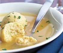 "matzah ball soup ~ cures almost anything. ""Light, delicate and perfect for Passover"" recipe !!"