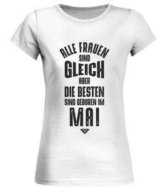 22542f7008124a Frauen Geburtstag Mai - Rundhals T-Shirt Frauen #Shirts #ValentinstagTShirt V  Neck,