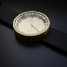 The precisely cut ring and the high quality materials give the Tube Watch its refined, yet tough and industrial character #design #watches