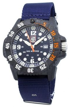 Carbon Composite Case, Quartz Movement, Analog Display, Luminous Hands And Markers, Screw Down Crown. Rugged Watches, Watches For Men, Seiko Automatic, Watch Model, Casio G Shock, Navy Seals, Watch Sale, Blue Crystals, Casio Watch