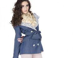 LaFemmeMiMi / Kabát Jeans