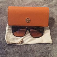 Tory Burch Tortoise Sunglasses Tory Burch TY7003 Sunglasses Vintage Tortoise. Item is in excellent condition!!! Love these shades! Tory Burch Accessories Sunglasses