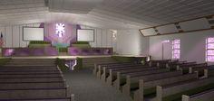 Interior church remodel Architecture, Interior, Arquitetura, Indoor, Interiors, Architecture Design