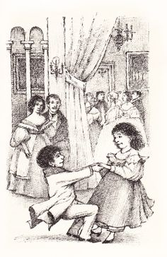 """Maurice Sendak did more than just draw """"wild things."""" These dancing children are from his adaptation of Leo Tolstoy's """"Nikolenka's Childhood."""" See more w/ Brain Pickings. Children's Book Writers, Maurice Sendak, Esoteric Art, Paint Photography, Typography Prints, Colouring Pages, Book Illustration, Childrens Books, Book Art"""