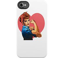 I Love Lucy [Clothing/iPhone/iPod/Stickers] iPhone Case by annalise