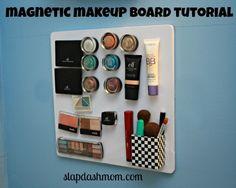 Magnetic #Makeup Board #Tutorial E.L.F. Makeup!