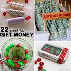 22 ways to gift money