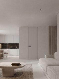Neutral, Modern-Minimalist Interior Design: 4 Examples That Masterfully Show Us How - Modern Interior Design Minimalist House Design, Minimalist Interior, Minimalist Decor, Modern Interior Design, Interior Styling, Modern Decor, Minimalist Layout, Modern Minimalist Living Room, Interior Logo