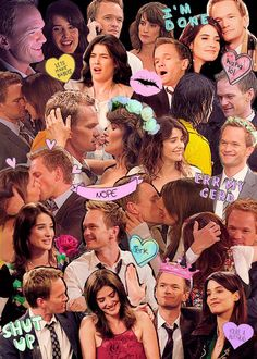 How i met your mother. Barney and robin happy times