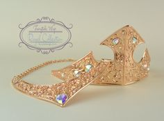 Aurora Sleeping Beauty Crown and Necklace by FairytaleWigs on Etsy