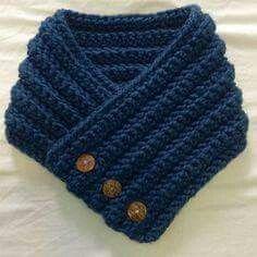 Knit Celtic Cable Neckwarmer Scarf Free Knitting Pattern - *but make longer . Crochet Scarf Easy, Hand Knit Scarf, Chunky Crochet, Crochet Scarves, Free Crochet, Knit Crochet, Knitting Scarves, Crochet Capas, Knitting Patterns