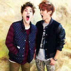 Xiumin and Luhan <3