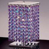 """Found it at Wayfair - Aurea 9.45"""" H Table Lamp with Square Shade  LOVE!"""