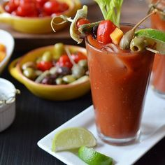 Gin Bloody Mary