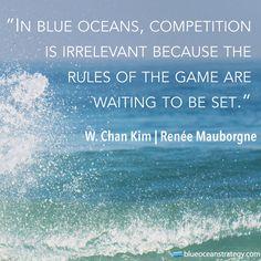 Blue Ocean Quote