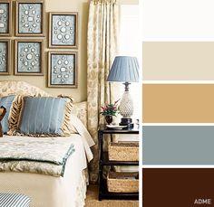 20идеальных сочетаний цветов винтерьере спальни
