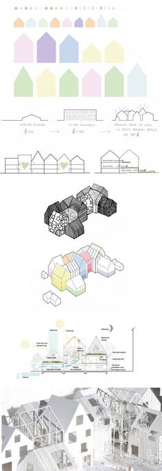|C|oncept Model    arquitectura guarderia infografia