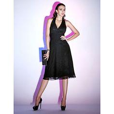 RICARDA - Vestido de Cóctel de Gasa – USD $ 89.99