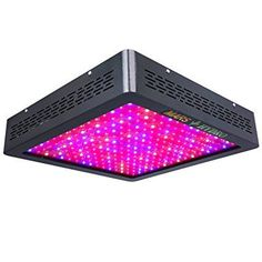 MarsHydro MARS II 1200W LED Grow Lights True Watt 540W-555W Full Spectrum High Penetration Veg  Flower Switchable for Indoor and Greenhouse Plants. Plant grow lights. It's an Amazon affiliate.