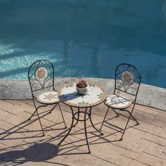 15 Small Balcony Furniture Pieces You Must Know - Foter Small Balcony Furniture, Garden Furniture, Outdoor Furniture Sets, Outdoor Decor, Furniture Ideas, Outdoor Spaces, Patio Seating, Patio Table, Patio Bar